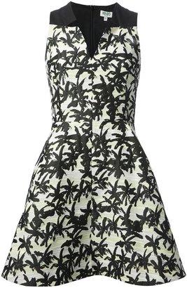 Kenzo palm print dress
