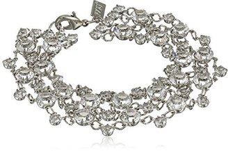"1928 Jewelry ""Signature Crystal"" Genuine Swarovski Bracelet, 7.5"" $150 thestylecure.com"