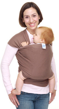 Moby Wrap Moderns Baby Carrier - Cafe