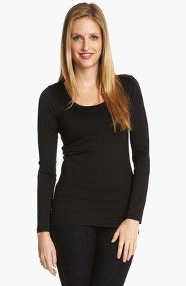 Women's Karen Kane Supersoft Long Sleeve Tee $58 thestylecure.com