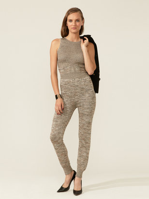 M Missoni Metallic Knit Jumpsuit