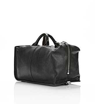 Alexander Wang Opanca Duffle In Black With Rhodium