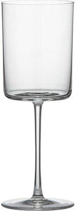 Crate & Barrel Edge White Wine Glass