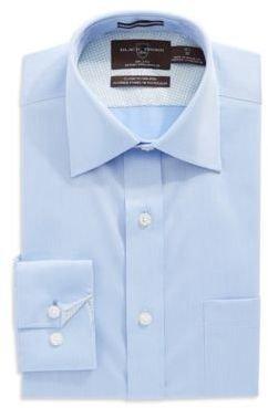 Black Brown 1826 Regular Fit Pin Striped Dress Shirt