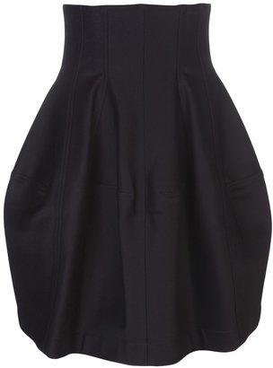 Alaia paneled skirt