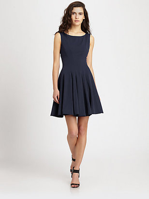 Theory Kaien Fit-And-Flare Dress