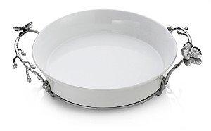 Michael Aram White Orchid Pie Plate