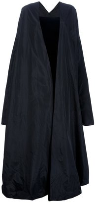 Jean Paul Gaultier maxi dress and cape