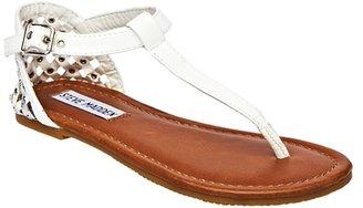 Steve Madden Girl's J Suttle Sandal - White