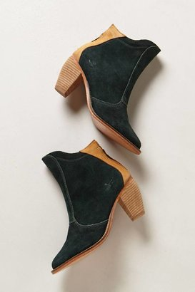 Anthropologie Ranch Booties