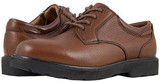 Dockers Shelter Plain Toe (Black Full Grain Leather) Men's Lace up casual Shoes