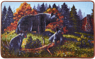 Avanti Black Bear Lodge Rug