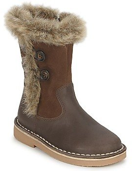 Citrouille et Compagnie IZOUI girls's High Boots in Brown