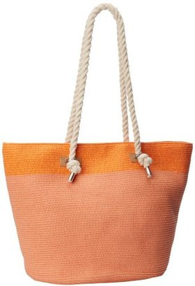 Magid Two Tone Large Rope Tote
