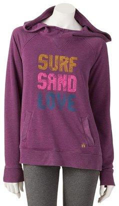 Hang ten surf sand love sweatshirt - juniors