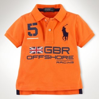 Short-Sleeved Big Pony Polo