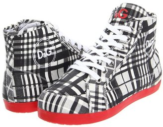 D&G Ankle Boot - LCDZM2 (Toddler/Youth) (Red Sole) - Footwear