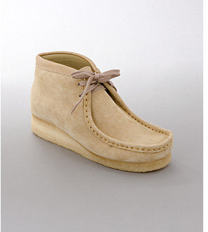"""Clarks Wallabee"""" Boot - Sand"""