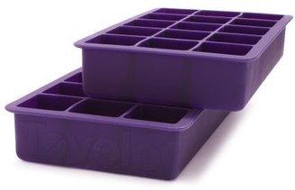 Tovolo Purple Perfect Cube Ice Trays, Set of 2