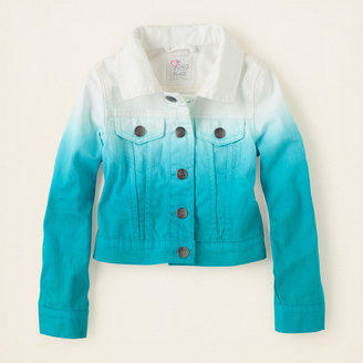 Children's Place Dip dyed jacket