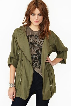 Nasty Gal In The Army Anorak