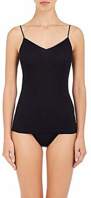 Hanro Women's Cotton Seamless Camisole - Black
