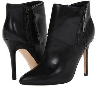Ivanka Trump Mina (Black Leather) - Footwear