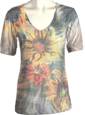 Women's Ojai Clothing Burnout Vee $51.95 thestylecure.com