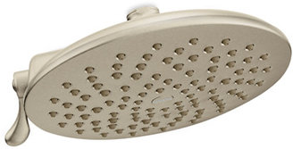Moen Velocity Two-Function Rainshower Showerhead - Brushed Nickel