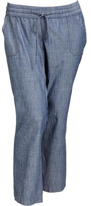 Old Navy Women's Plus Chambray Pull-On Pants