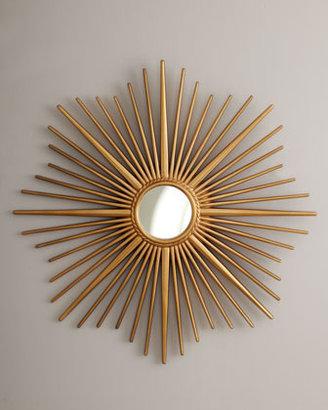 Golden Sunburst Mirror