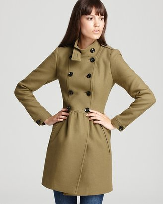 Burberry Military Peplum Coat