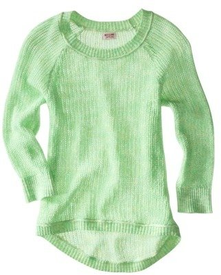 Mossimo Juniors High Low 3/4 Sleeve Sweater - Assorted Colors