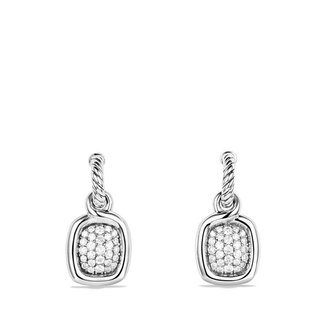 David Yurman Labyrinth Drop Earrings with Diamonds