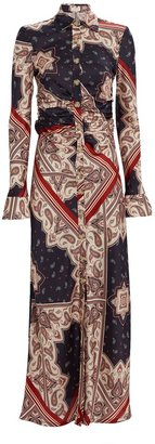 Petersyn Sarah Paisley Maxi Dress