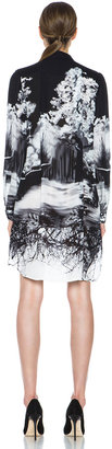 Mary Katrantzou Gloria Blouse Dress in Tia Maria