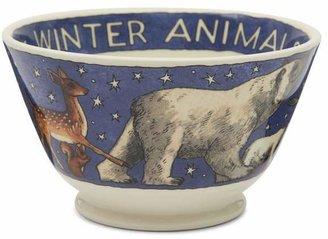 Emma Bridgewater Winter Animals Small Old Bowl