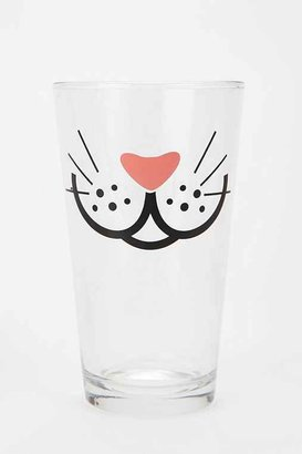 Urban Outfitters Whiskers Pint Glass