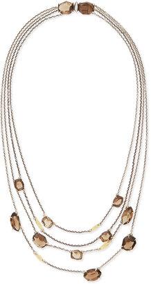 Alexis Bittar Fine 5-Strand Smoky Quartz Necklace