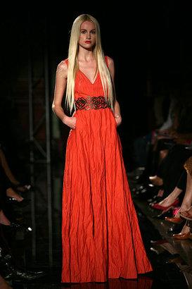 Lisa Ho metallic long dress