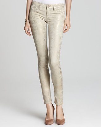 Quotation: SOLD design lab Skinny Jeans - Gold Coated
