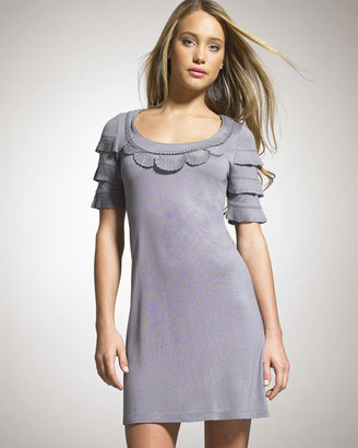 Juicy Couture Chiffon Trimmed Dress