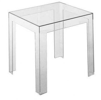 Kartell Ghost Side Table Color: Crystal Clear