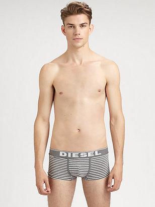 Diesel Yosh Striped Boxer Trunks