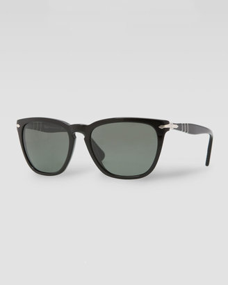 Persol Capri Polarized Sunglasses, Black