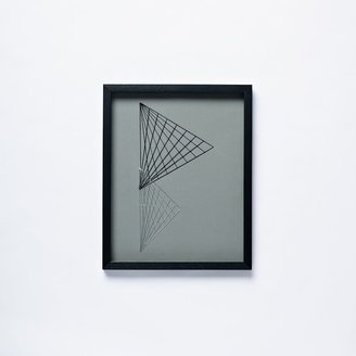 west elm Geo Stitch Wall Art – Triangles