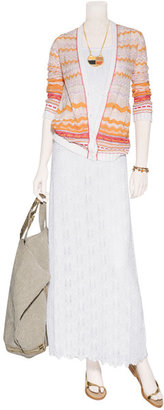 Missoni White Jumper Maxi Dress