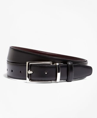 Brooks Brothers Reversible Leather Belt