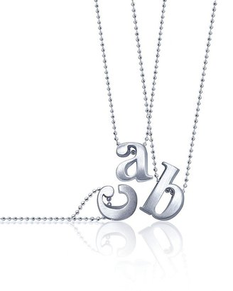 Of the Moment Alex Woo Letter Necklace, 16""