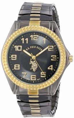 U.S. Polo Assn. Classic Men's USC80056 Gun-Metal Analogue Dial Expansion Watch